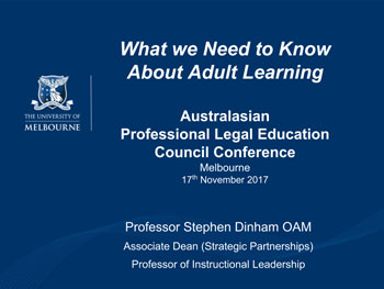Stephen-Dinham-Adult-Learning-APLEC-2017