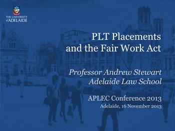 PLT-Placements-Fair-Work-Act_Prof-A-Stewart